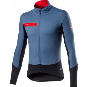 Castelli Beta Ros Jacket - L Steel Blue Black