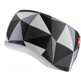 Castelli Triangolo Headband - Black/White