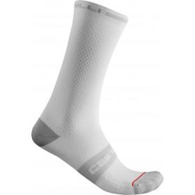 Castelli Superleggera T 18 Sock - White