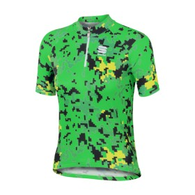 SPORTFUL Game Kids Jersey SS Green Fluo Yellow Fluo