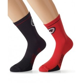 ASSOS Equipe Evo 7 Sock National Red Black