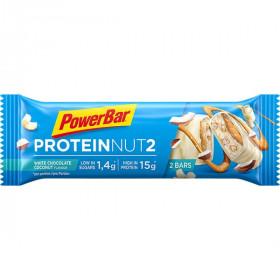 Powerbar protein nut2 reep white chocolate coconut 60g
