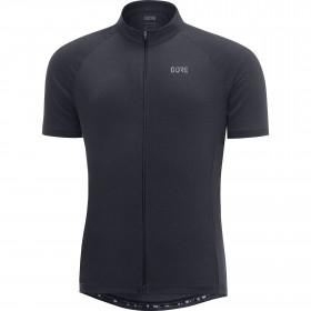 Gore C3 maillot de cyclisme manches courtes noir (100031)