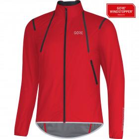 Gore C7 gore windstopper light veste de cyclisme rouge