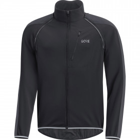 Gore C3 gore windstopper phantom zip-off veste de cyclisme noir terra gris
