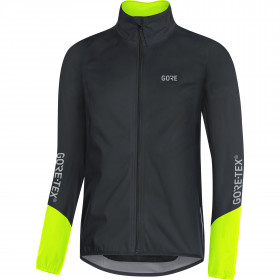 Gore C5 GTX Active Jacket - black/neon yellow