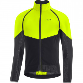 Gore Phantom Jacket Mens - neon yellow/black
