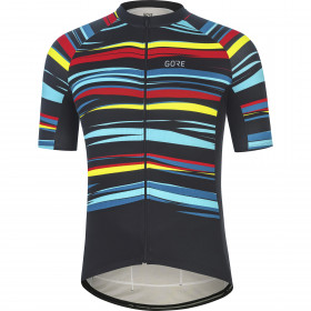 Gore Wear Savana Jersey Mens - Black/Multicolor