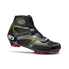Sidi Frost Gore vtt chaussures de cyclisme noir jaune
