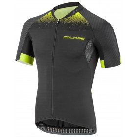 GARNEAU Elite M2 RTR Jersey SS Black Bright Yellow