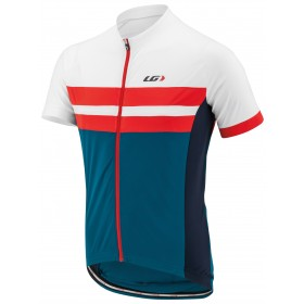 GARNEAU Evans Classic Jersey SS Moroccan Blue Flame White