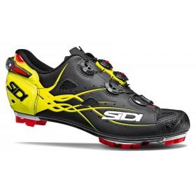 SIDI Tiger Matt vtt chaussures de cyclisme mat noir fluo jaune