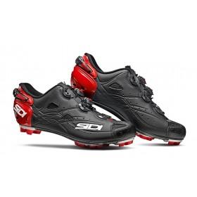 SIDI tiger matt chaussures vtt rouge mat noir