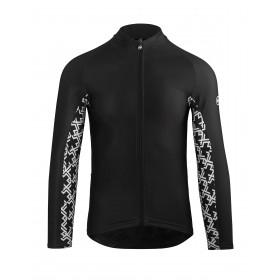 Assos mille gt spring/fall maillot de cyclisme manches longues noir