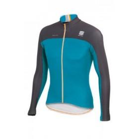SPORTFUL Bodyfit Pro Thermal Jersey LS Lake Green Anthra