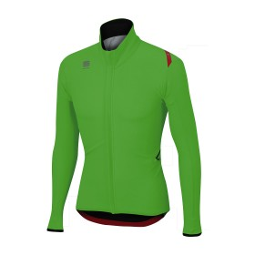Sportful fiandre light wind veste de cyclisme vert fluorescent