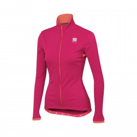 Sportful luna softshell veste de cyclisme femme love potion rose