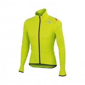 Sportful hot pack 6 veste coupe-vent fluo jaune
