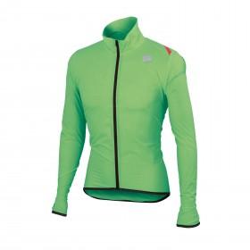 Sportful hot pack 6 veste coupe-vent fluo vert