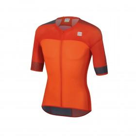 Sportful bodyfit pro 2.0 light maillot de cyclisme manches courtes orange sdr fire rouge