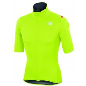 Sportful fiandre light norain maillot de cyclisme sans manches fluo jaune