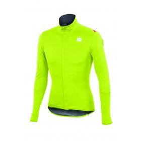 Sportful fiandre light norain top maillot de cyclisme manches longues fluo jaune