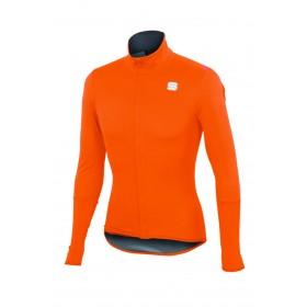 Sportful fiandre light norain top maillot de cyclisme manches longues orange