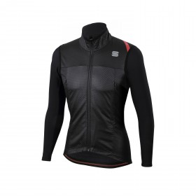 Sportful fiandre strato wind veste de cyclisme noir
