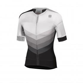 Sportful bodyfit pro 2.0 evo maillot de cyclisme manches courtes blanc noir