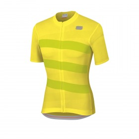 Sportful team 2.0 ribbon maillot de cyclisme manches courtes tweety jaune