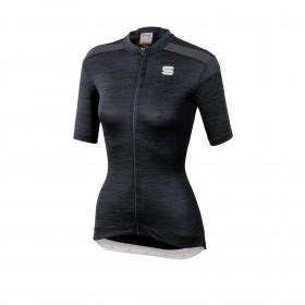 Sportful giara maillot de cyclisme manches courtes femme noir
