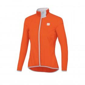 Sportful hot pack easylight veste coupe vent femme orange sdr
