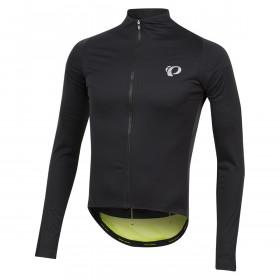 Pearl Izumi pro pursuit wind maillot de cyclisme manches longues noir screaming jaune