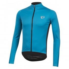 Pearl Izumi pro pursuit wind maillot de cyclisme manches longues atomic bleu noir