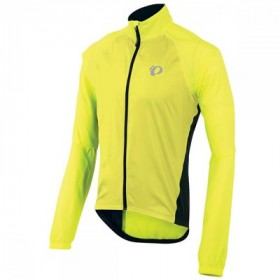 Pearl Izumi elite barrier veste coupe vent screaming jaune