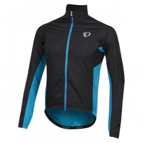 Pearl Izumi elite pursuit hybrid veste de cyclisme noir atomic bleu