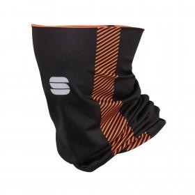 Sportful thermal cache-cou noir orange sdr