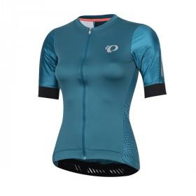 Pearl Izumi elite pursuit speed maillot de cyclisme manches courtes femme teal kimono bleu