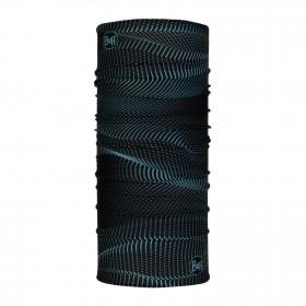 Buff Reflective Chauffe-nuque - R Glow Waves Black