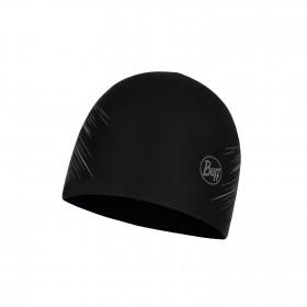 Buff Microfiber Bonnet - Réversible  - R Solid Black