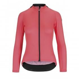 Assos uma gt summer maillot de cyclisme à manches longues femme galaxy rose