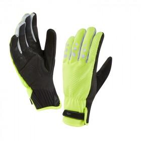 Sealskinz all weather cycle gant de cyclisme jaune fluorescent