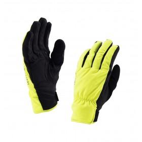 Sealskinz brecon gant de cyclisme hi-vis jaune noir