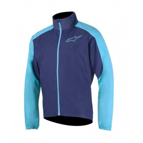 Alpinestars descender 2 veste de cyclisme poseidon bleu atoll bleu