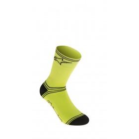 Alpinestars winter chaussettes de cyclisme acid jaune noir