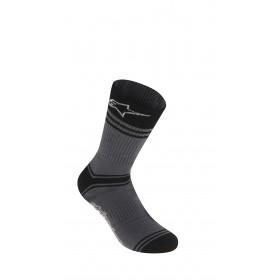Alpinestars summer chaussettes de cyclisme gris noir