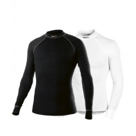 Craft active vêtement manches longues noir et blanc 2-pack