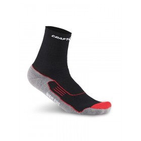 CRAFT Warm Bike Mid Sock Black Grey