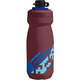 Camelbak podium dirt series bidon 600ml burgundy rood blauw