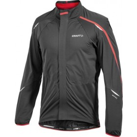 CRAFT Tech Jacket Black Bright Red